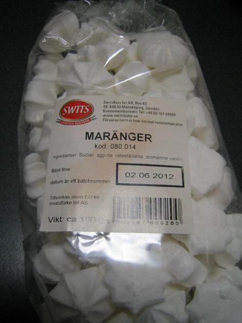Mjölkfria maränger