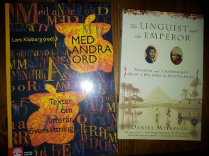 Med andra ord och The Linguist and the Emperor