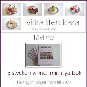 virka liten kaka: Tävling - boken!