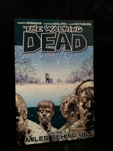 Miles Behind Us (The Walking Dead, #2)