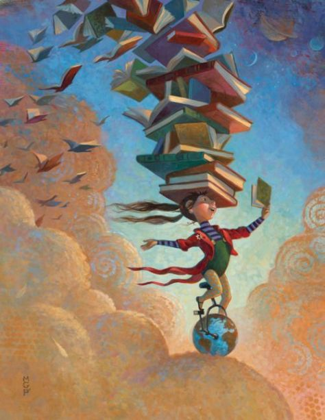 Balansera böcker