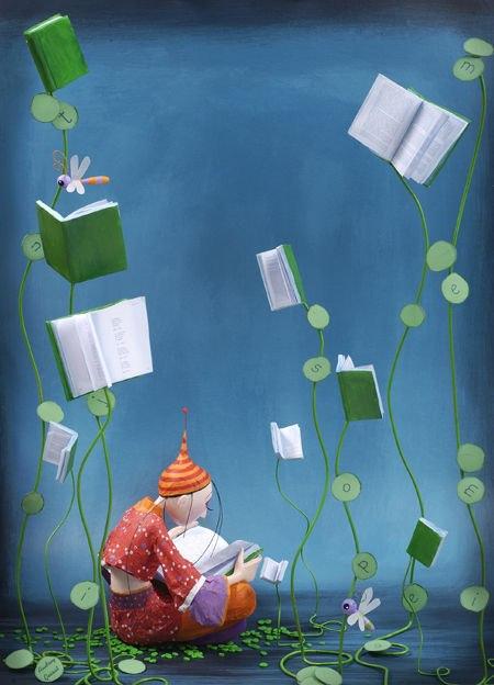 Läsning och bokväxter